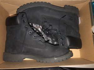 Black Timberland 6In. Waterproof Boots for Sale in Beaumont, CA