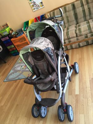 Graco Quattro tour double stroller for Sale in Alexandria, VA