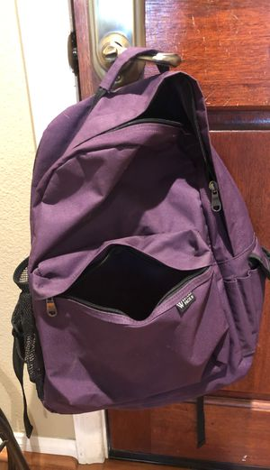 Western Pack purple backpack for Sale in San Diego, CA