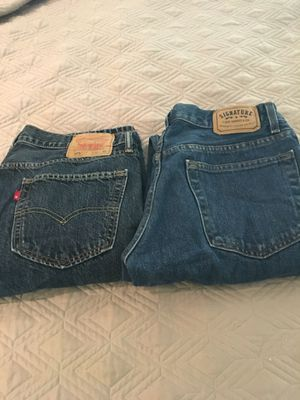 Two pairs of Men's Levi's Never Worn 32x30 for Sale in Raleigh, NC