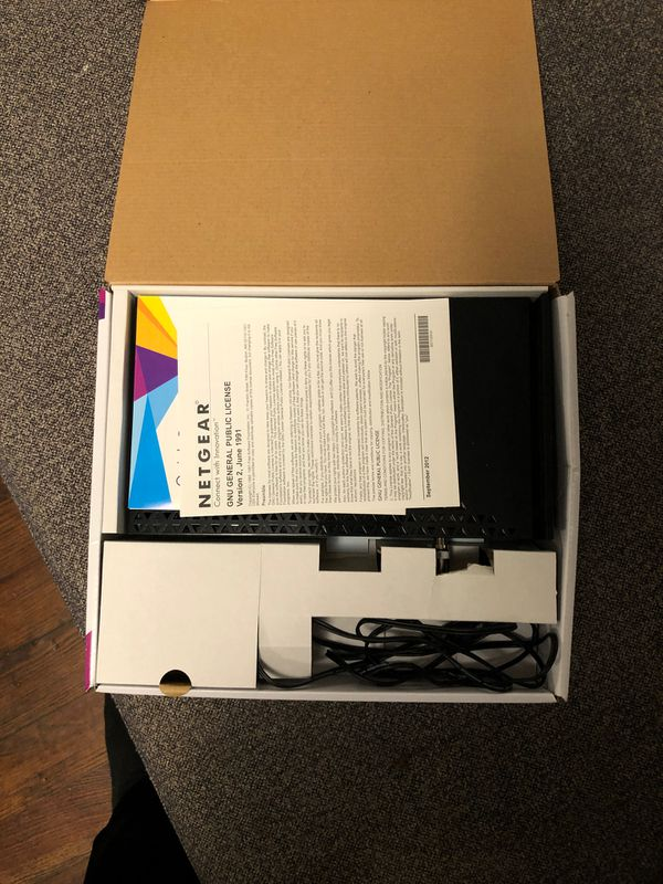 AC1750 WiFi cable modem router