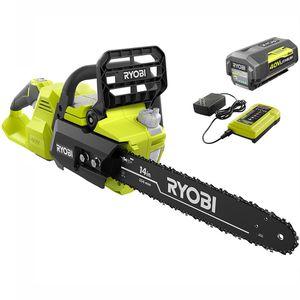 "14"" Ryobi Chainsaw 40V lithium ' GAS-LIKE' for Sale in Auburn, WA"
