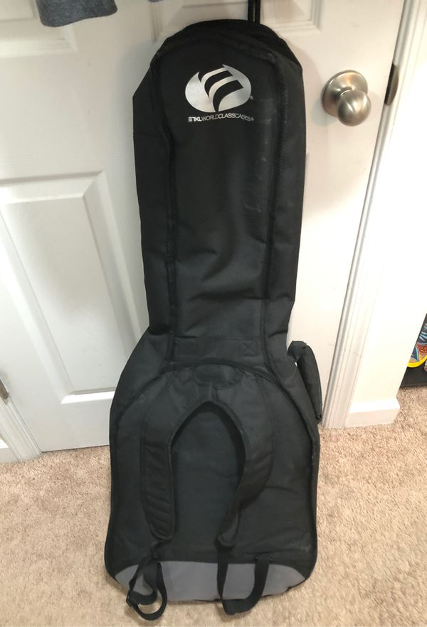 Glen Burton Acoustic Electric guitar with TKL Acoustic Guitar Bag