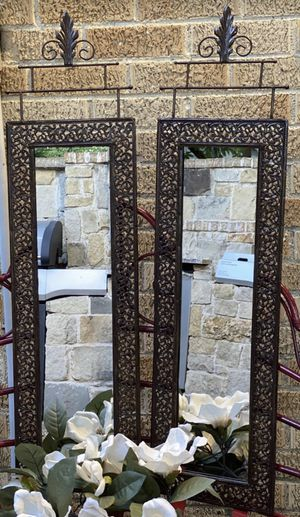 Metal prestige wall mirror for Sale in Dallas, TX