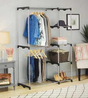 Whitmor Double Rod Closet for Sale in Henderson, NV