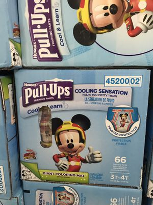 Huggies pull up 3t-4t $18 each for Sale in Richardson, TX