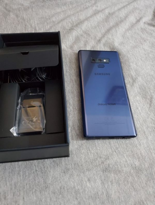 Samsung Galaxy Note 9 128GB FACTORY UNLOCKED, New with Warranty