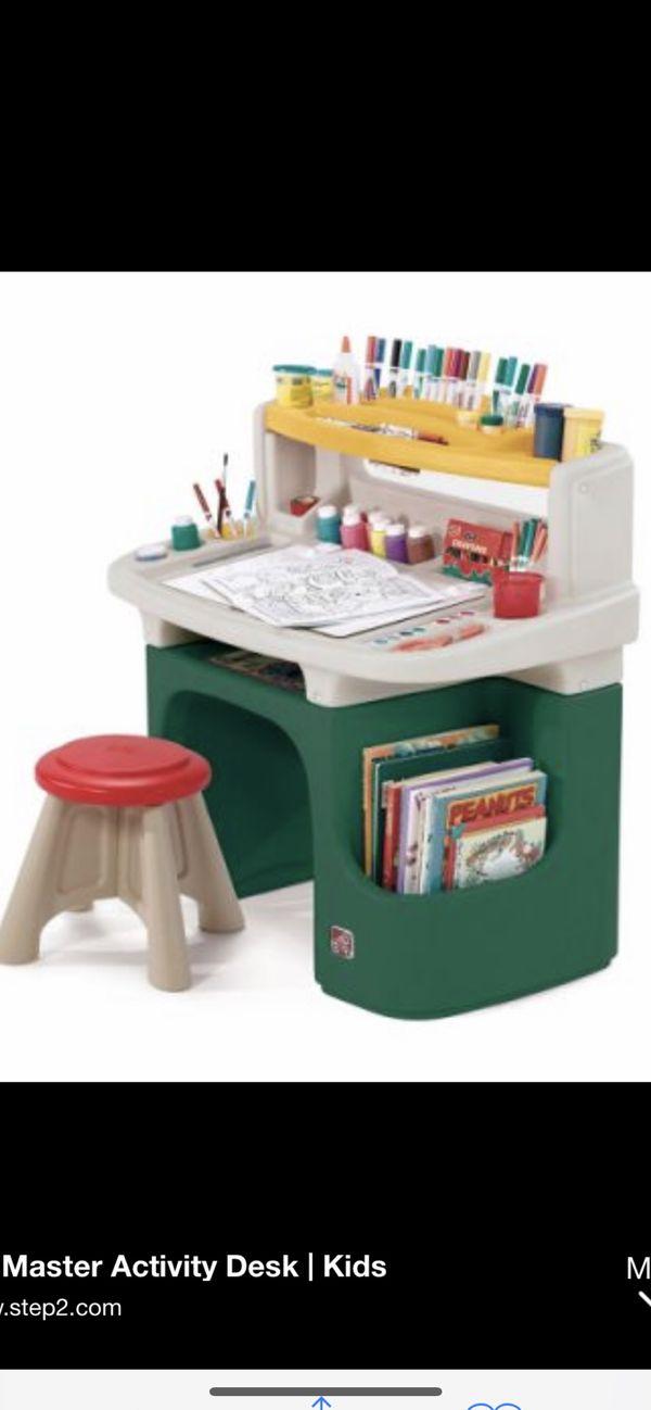 Step2 master activity kids desk