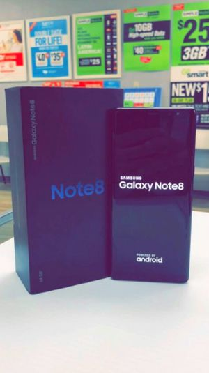 Samsung Galaxy Note 8 64gb Factory Unlocked, Like New, Free Charger and 30 days Warranty! for Sale in Arlington, TX