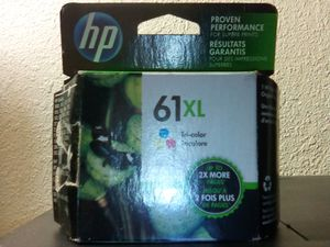 Hewlett-Packard® (HP) 61XL High Yield Tri-Color Original Ink Cartridge for Sale for Sale in San Jose, CA
