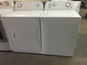 NEW Amana Washer and Dryer Laundry Pair [FOR] for Sale in Parkdale, OH