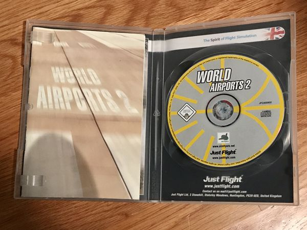 World Airports 2 from JustFlight - FS2004/2002