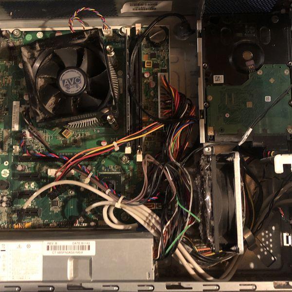 HP Desktop Computer For Parts