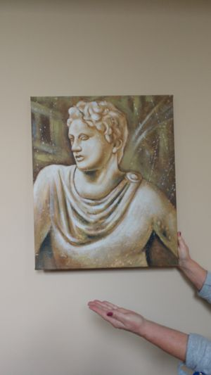 Hand-painted Greek museum reproduction for Sale in Alpharetta, GA
