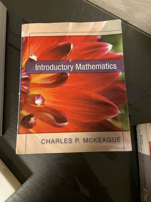 Introductory mathematics textbook for Sale in Aurora, CO