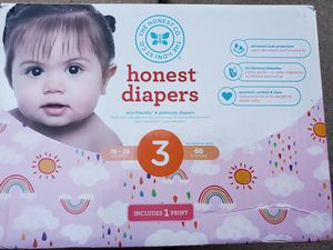 Honest diapers size 3 for Sale in Sugar Grove, IL