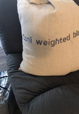 Zonli Weighted blanket for Sale in Phoenix, AZ