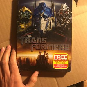 Transformers DVD. (MP3 Player Not Included). (🚨Read Description). for Sale in Los Angeles, CA
