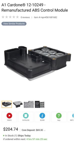 Abs control module for gm caddilac Chevy 2005+ for Sale in Greensboro, NC