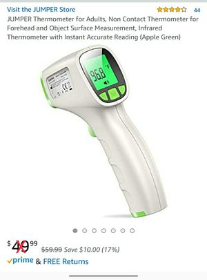New Thermometer for Adults, Non Contact Thermometer for Forehead for Sale in Strongsville, OH