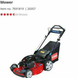 Toro 22in Gass Self Propelled 4x4 Lawn Mower for Sale in Upper Marlboro, MD