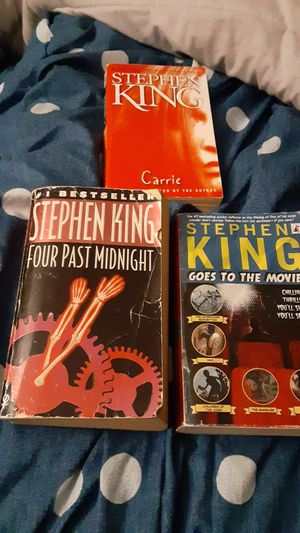 STEPHEN KING BOOKS LOT OF 3 for Sale in Ormond Beach, FL