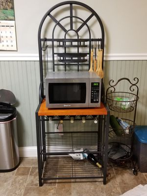 Bakers rack/microwave for Sale in Atco, NJ