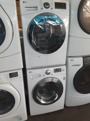 $599 LG washer dryer set includes delivery in the San Fernando Valley a warranty and installation for Sale in Los Angeles, CA