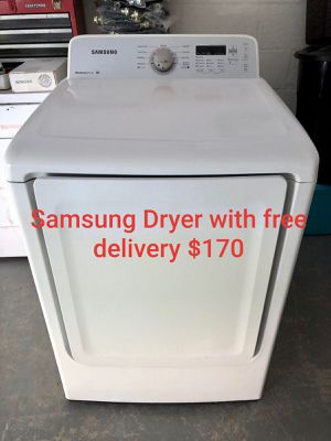 Samsung dryer super capacity with free delivery for Sale in Lakeland, FL