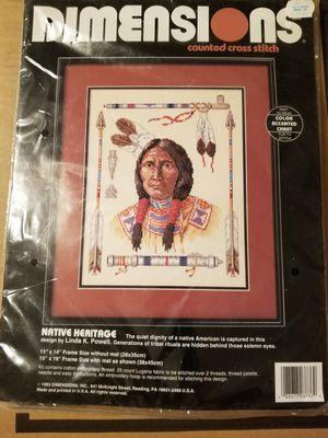 Cross Stitch Kit for Sale in Fresno, CA