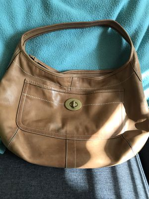 "Coach hobo tan leather ""Ergo"" Handbag for Sale in Columbus, OH"