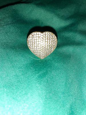 14k gold heart shape ring $400 OBO for Sale in Clarksville, TN