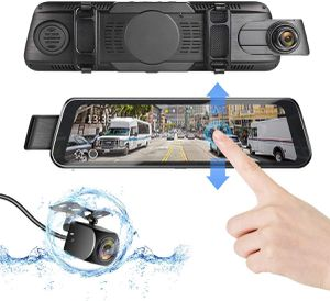 """New DUTERI D Mirror Dash Cam Rear View Camera Cars Video Backup Parking 24H's Monitor with Night Vision G-Sensor Waterproof 170°HD 1080P 9.66"""" Full S for Sale in Orlando, FL"""