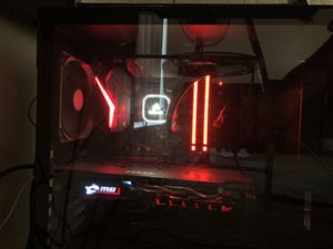 Gaming computer and monitor for Sale in Fresno, CA