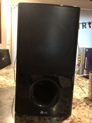 Yamaha receiver with LG speaker for Sale in Annandale, VA