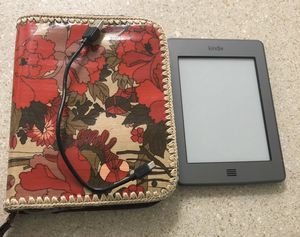 Kindle Touch and Carrying Case for Sale in Davie, FL
