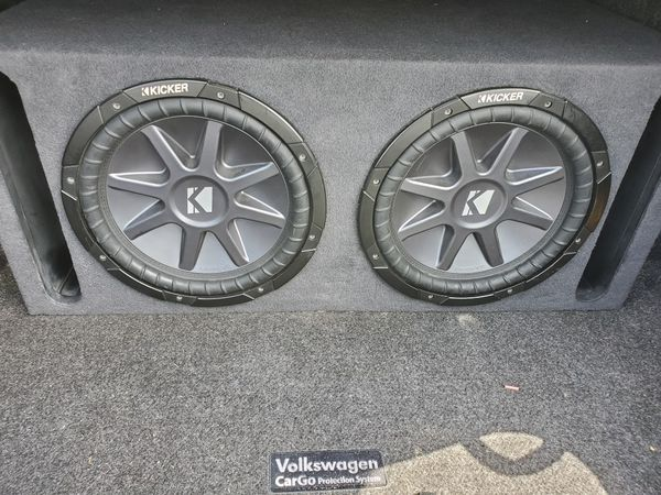 """Two 12"""" Kicker Competition Type R's"""