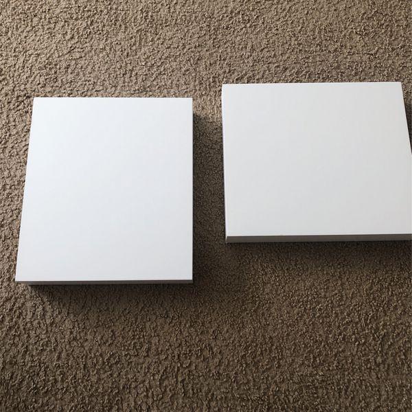 White Wall Shelves