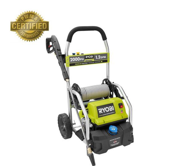 Ryobi RY141900 2,000 PSI 1 2 GPM Electric Pressure Washer for Sale in  Palmdale, CA - OfferUp