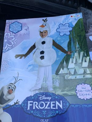 Disney frozen Olaf Halloween costume size large for Sale in Murfreesboro, TN