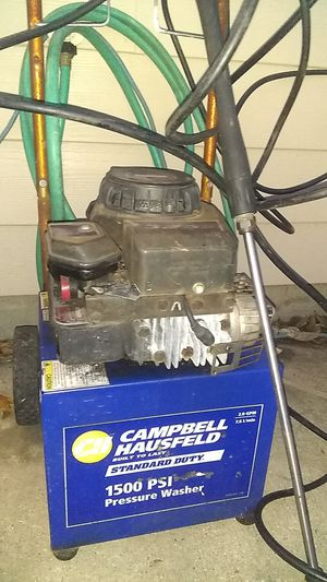 Campbell Hausfeld 1500PSI pressure washer for Sale in Columbus, OH