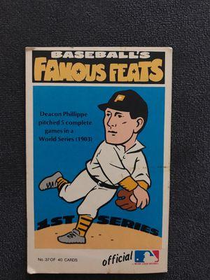 1972 Fleer Deacon Phillippe Baseball card for Sale in Lowell, MA