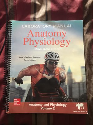 Anatomy and physiology Volume 2 edition Laboratory Manual. for Sale in Hialeah, FL