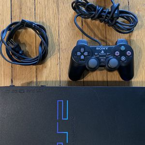 Play Station 2 With 1 Controller And Remote for Sale in Snohomish, WA