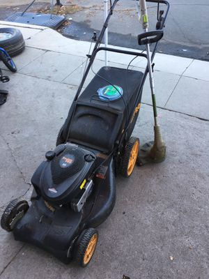 Lawn mower and weed wacker for Sale in San Diego, CA