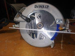 $80. Used-like-new. DEWALT 15 Amp 7-1/4 in. Lightweight Circular Saw with Electric Brake. DWE575SB for Sale in Morrow, GA