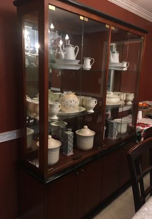 China Cabinet (contents inside are sold separately) for Sale in Takoma Park, MD