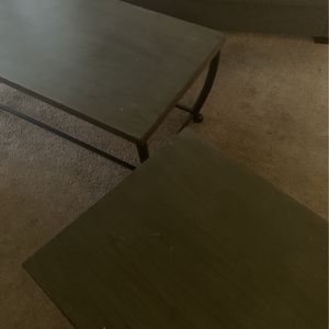 Coffe Table And End Table Need Gone $40 for Sale in San Bernardino, CA