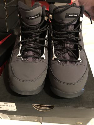 PS Jordan 9 Anthracite sz 3y for Sale in South San Francisco, CA