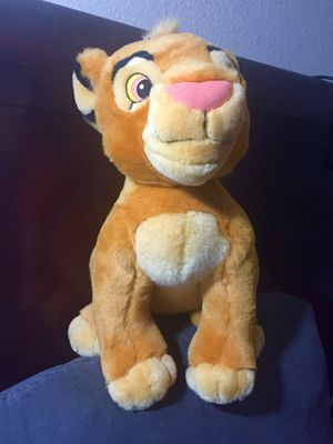 """AUTHENTIC Exclusive DIAMOND EDITION COLLECTION Lion King 13.5"""" YOUNG SIMBA PLUSH- RARE for Sale in Houston, TX"""